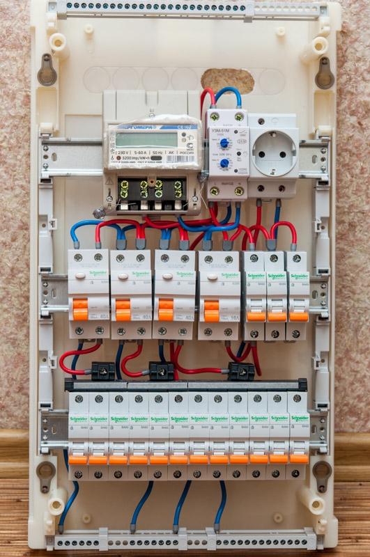 Как смонтировать электрощиток своими руками в частном доме 656